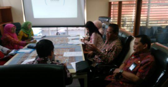 Rapat koordinasi Program Rehabilitasi Medik dan Sosial Narapidana korban penyalahgunaan Napza Rumah Sakit Pengayoman Cipinang