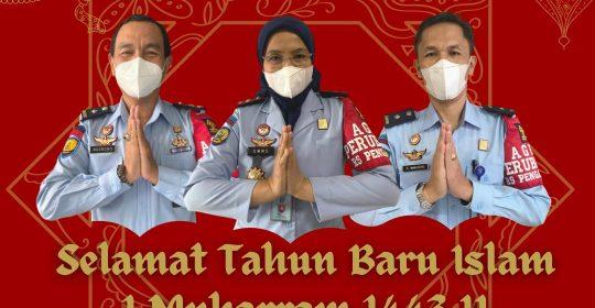 Segenap Keluarga Besar RSU Pengayoman Cipinang mengucapkan : Selamat Tahun Baru Islam 1 Muharram 1443 H