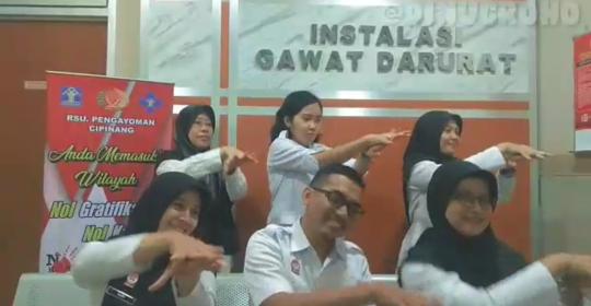 RSU Pengayoman Rilis Video Goyang Cuci Tangan