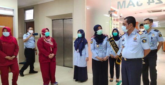 Kunjungan Kepala Kantor Wilayah Kementerian Hukum dan HAM DKI Jakarta